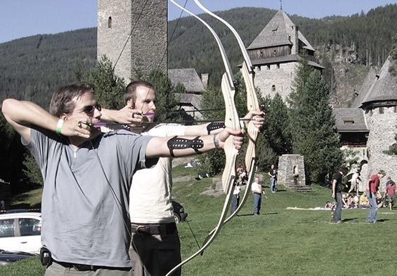 Besuch auf Burg Finstergrün